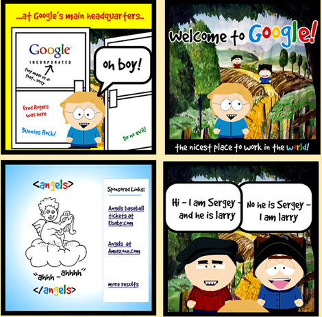 Scoble goes to Google interpreted by SouthPark
